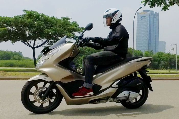 Ilustrasi All New Honda PCX 150