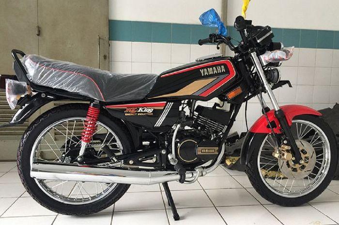 Ilustrasi motor Yamaha RX-King