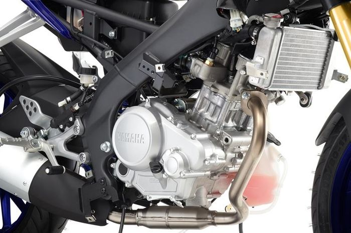 Ilustrasi mesin Yamaha