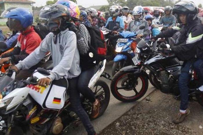 Ilustrasi bikers