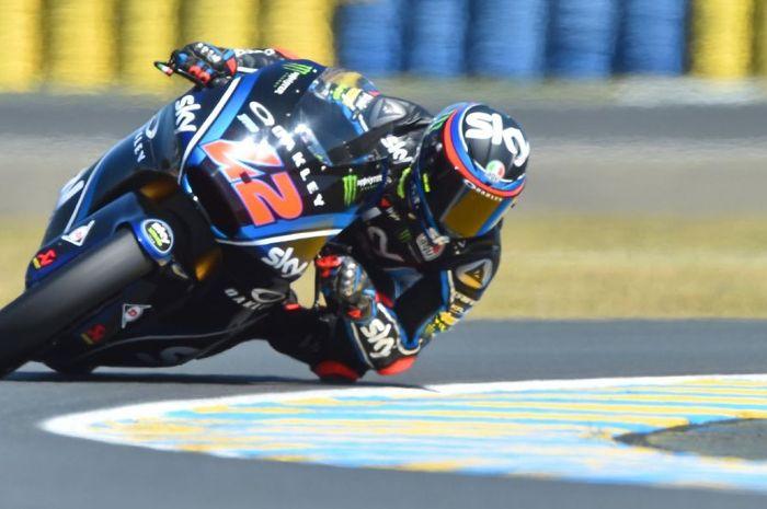 Francesco Bagnaia tidak tersentuh di race Moto2 Prancis