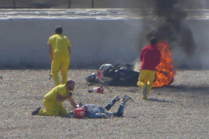 Tito Rabat alami crash horor