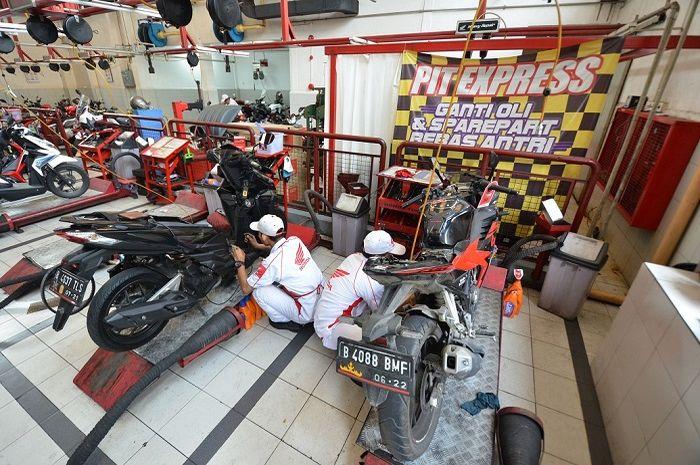 Dua AHASS di Jakarta akan disiagakan saat lebaran