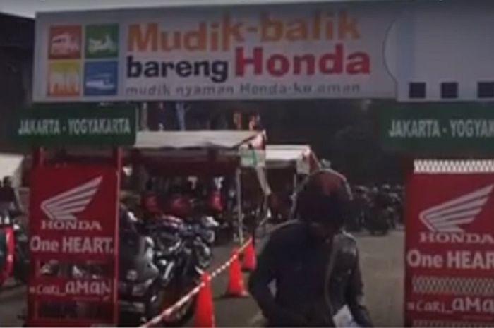 Mudik asyik bareng Honda 2018