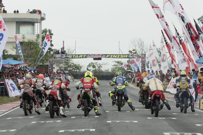 Kejurnas MotoPrix Seri III Di Bangkinang