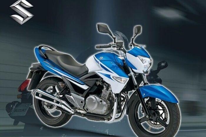 Ilustrasi Suzuki Inazuma 250