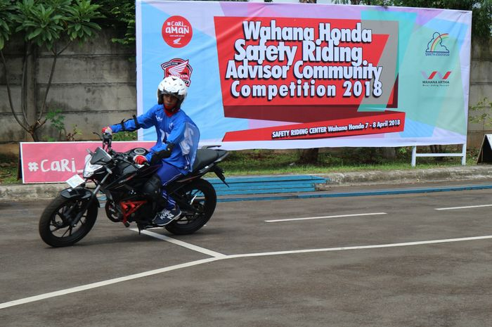 Kegiatan Safety Riding Wahana