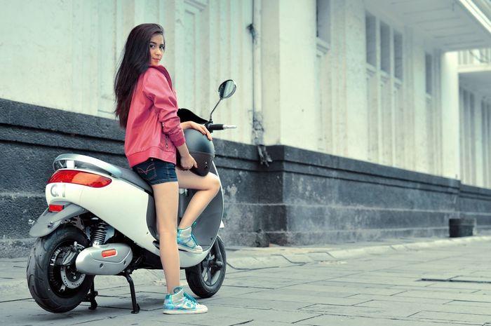 Viar Q1 merupakan motor listrik besutan Viar Motor Indonesia