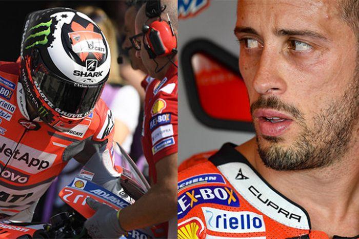 Jorge Lorenzo dan Andrea Dovizioso.