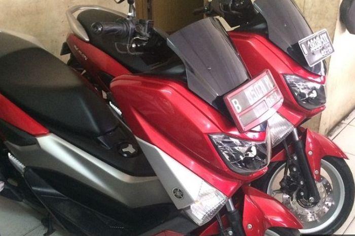 Yamaha NMAX seken di dealer motor bekas.