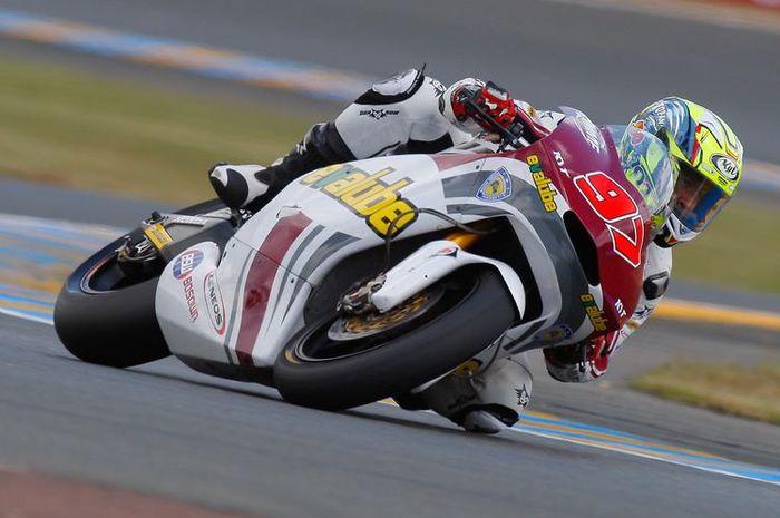 Rafid Topan Sucipto saat berlaga di Moto2