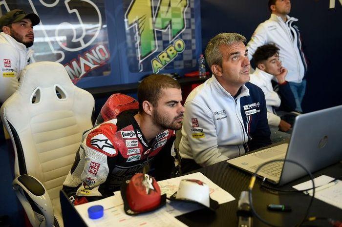 Romano Fenati dipecat timnya Marinelli Snipers dari Moto2 musim ini akibat ulahnya sendiri