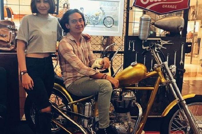 Chopper Adipati Dolken motor custom replika punya Jokowi