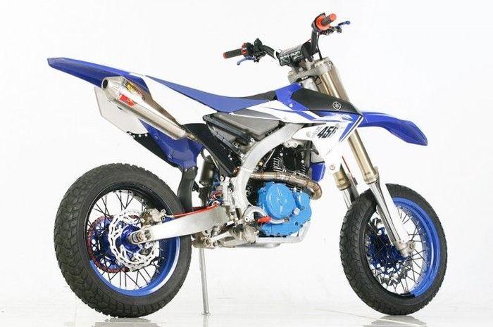 Yamaha Scorpio supermoto dari Papua
