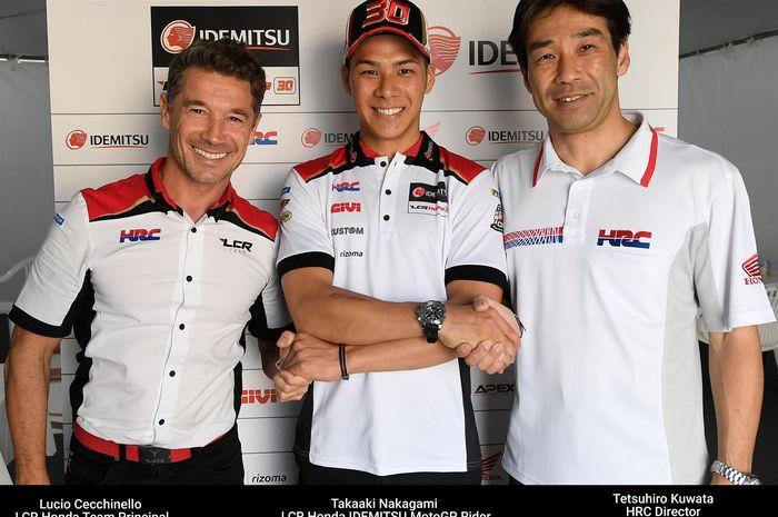 Takaaki Nakagami resmi bertahan di LCR Honda MotoGP 2019