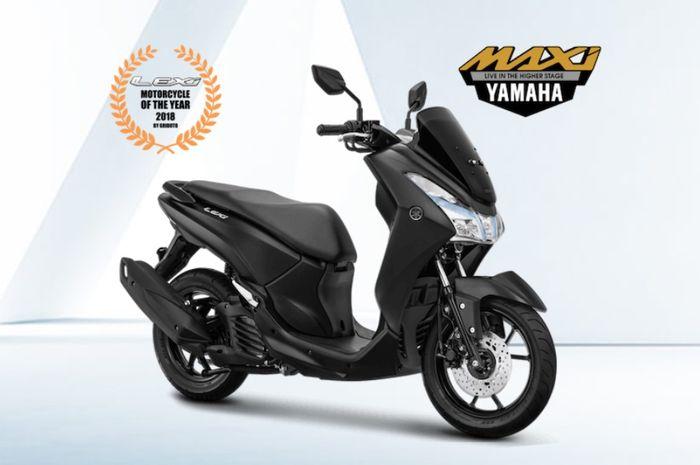 Yamaha Lexi warna baru
