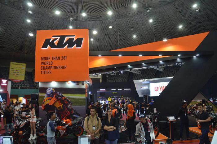 KTM Indonesia di IMOS 2018