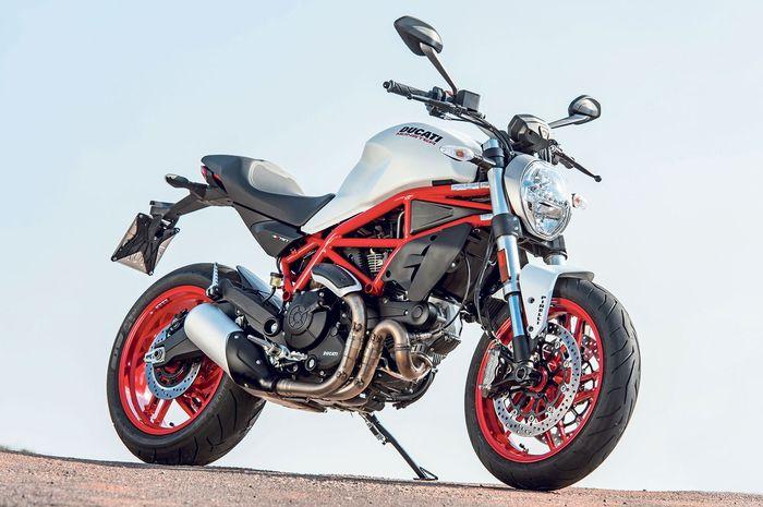 Ilustrasi Ducati Monster