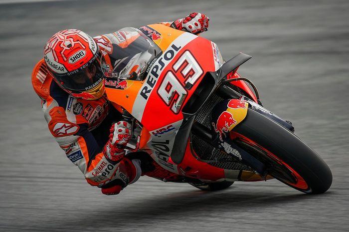 Marc Marquez tampil perkasa di FP1 MotoGP Valencia