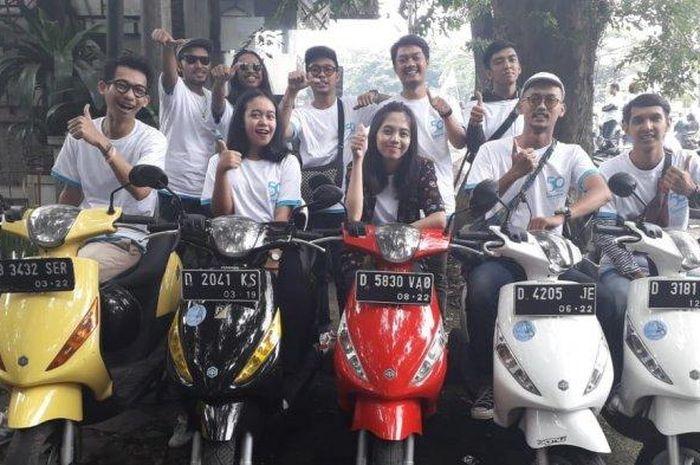 Komunitas Piaggio Zip Owner Bandung (ZOB) masih rutin nongkrong nih!